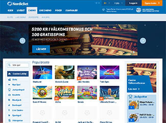 Nordic Bet Casino screenshot