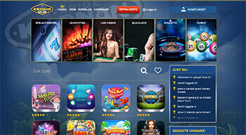 SverigeKronan Casino screenshot